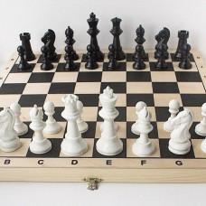 Шахматы ручной работы деревянная доска и фигуры утяжеленные