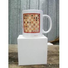 Шахматная кружка
