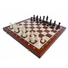 Шахматы Стаунтон 5 с деревянной доской