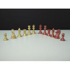 Шахматные фигуры пластмассовые Стаунтон 5 ручной работы