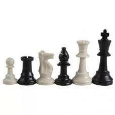 Шахматные фигуры пластиковые, стаунтон 6