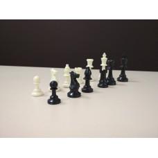 Шахматные фигуры пластиковые, стаунтон 4