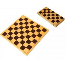 Доска шахматная 30х30 см ( пластик, высота доски 42 мм )