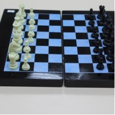 Шахматы магнитные с шахматной доской