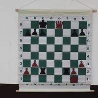 Демонстрационная шахматная доска 73X70 см